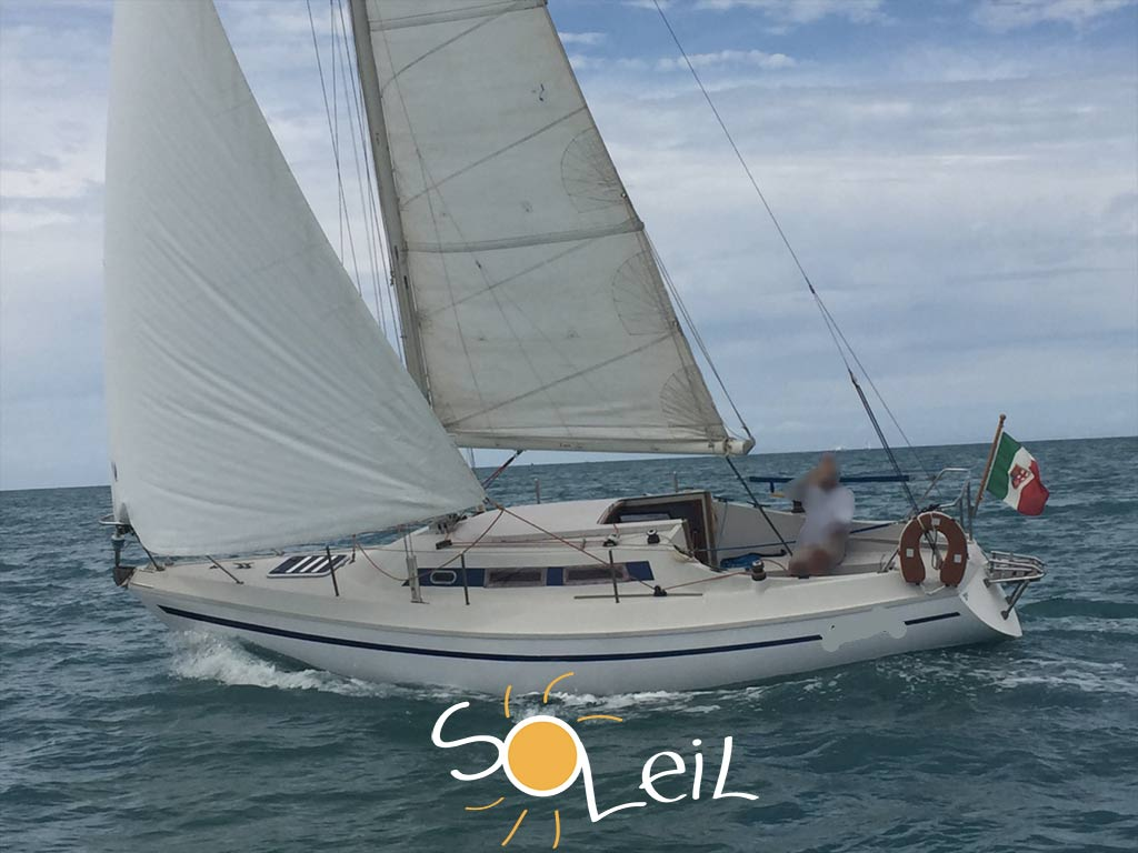 barca vela brigand 750 del 1974 usato for sale