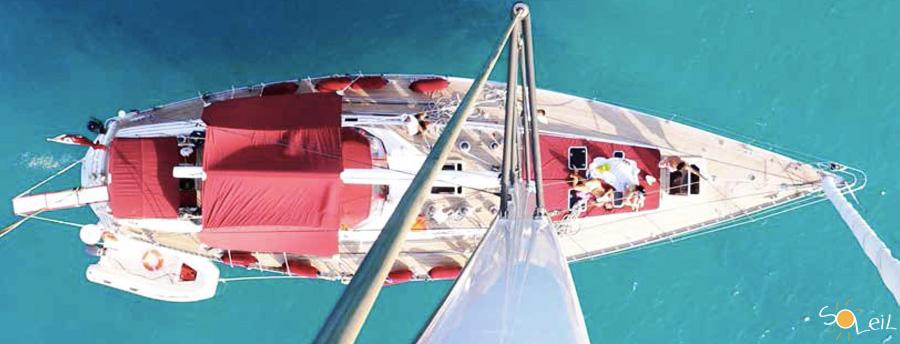 vacanze in maxi yacht arcipelago della maddalena