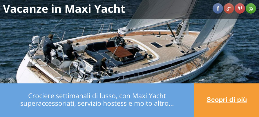 vacanze in maxi yacht soleil group