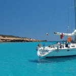 Week end in barca a vela Formentera