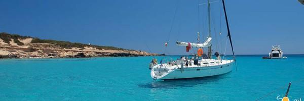 week end in barca a vela formentera