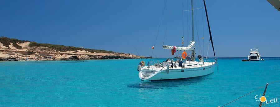 Connu Week end in barca a vela Formentera - Soleil Vacanze AL55