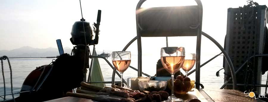 week end in barca a vela liguria cinque terre