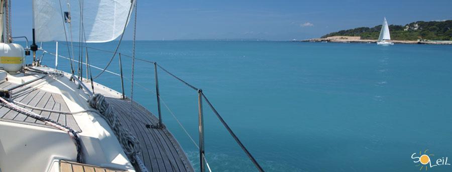 ponte del 25 aprile in barca a vela in costa azzurra