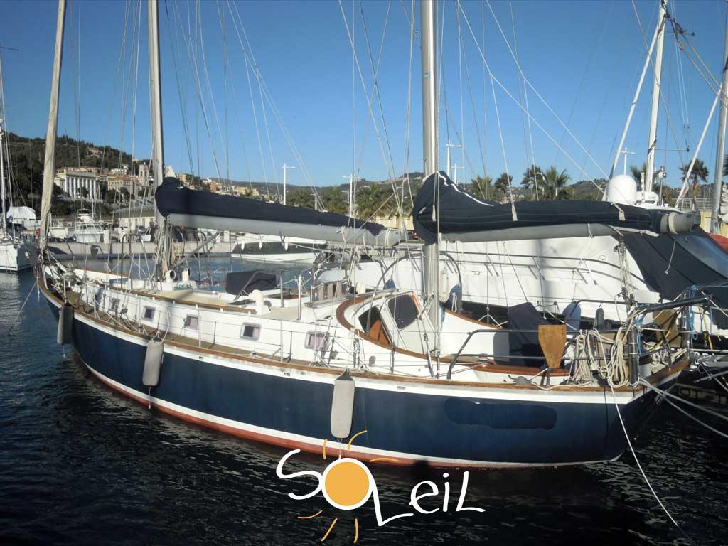 barca fagal 46 del 1977 alluminio usato