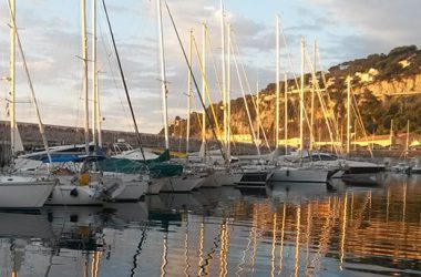 ponte dellimmacolata in barca a vela