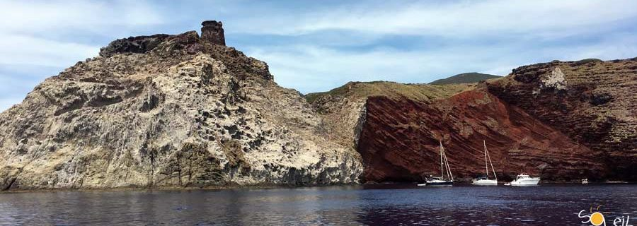 trekking e barca a vela a capraia