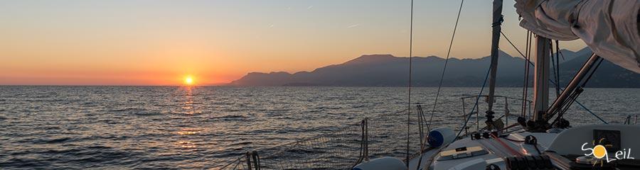 ponte del primo maggio in barca a vela in costa azzurra