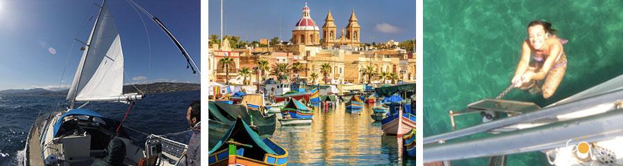 vacanze in barca a vela a malta