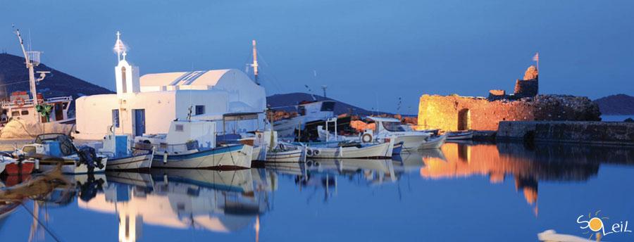 Vacanze in barca a vela alle Cicladi in Grecia