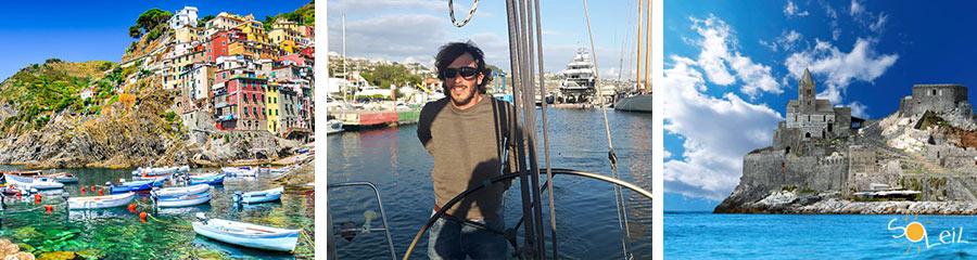 Escursioni giornaliere in barca a vela alle Cinque Terre