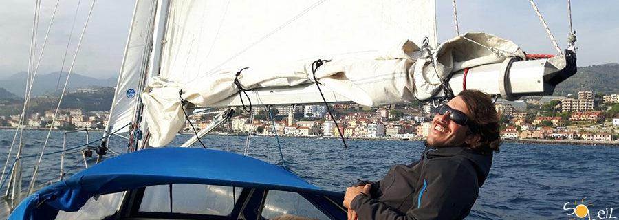 Uscite giornaliere in barca a vela alle Cinque Terre