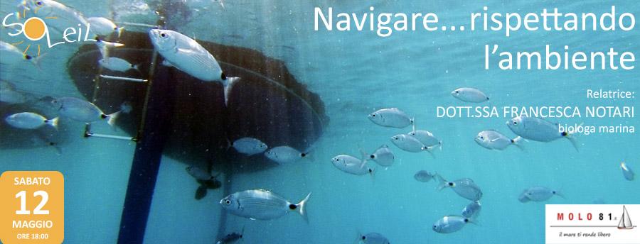 navigare rispettando l'ambiente