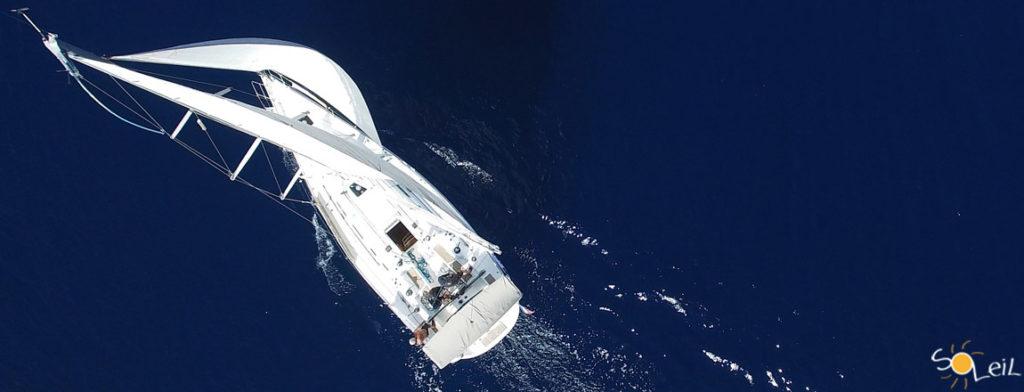 ocean sailing crossing
