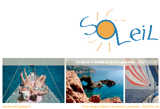 Calendario vacanze in barca a vela weekend