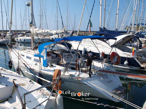 barca vela Jeanneau sun shine 38 del 1988 usato prezzo for sale