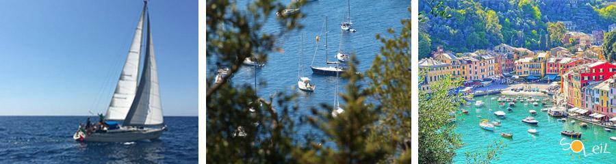 uscite giornaliere in barca a vela portofino san fruttuoso santa margherita